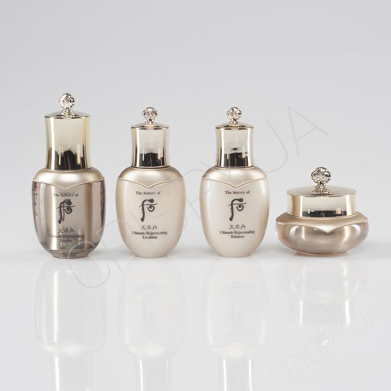 Набор антивозрастных мини-средств The History of Whoo Cheonyuldan Ultimate Regenerating Gift Set 4 items - 4 предмета
