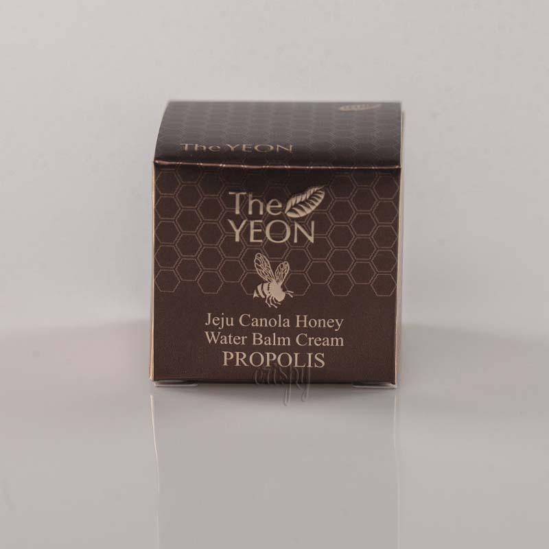 Мини-версия крема с медом THE YEON Jeju Canola Honey Water Balm Cream Propolis