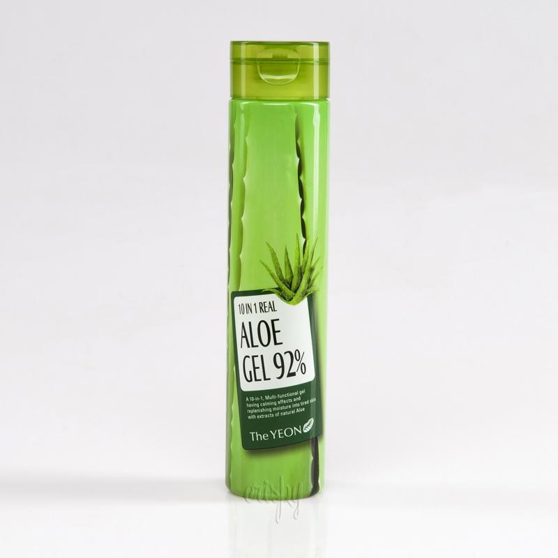 Многофункциональный легкий гель на основе алоэ вера 10in1 Real Aloe Gel 92% The YEON - 300 мл