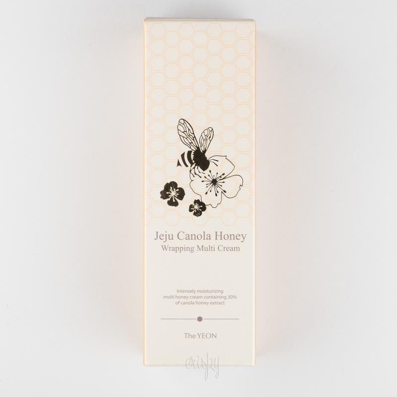 Крем для лица с мульти-эффектом на основе рапсового меда Jeju Canola Honey Wrapping Multi Cream The YEON - 100 мл