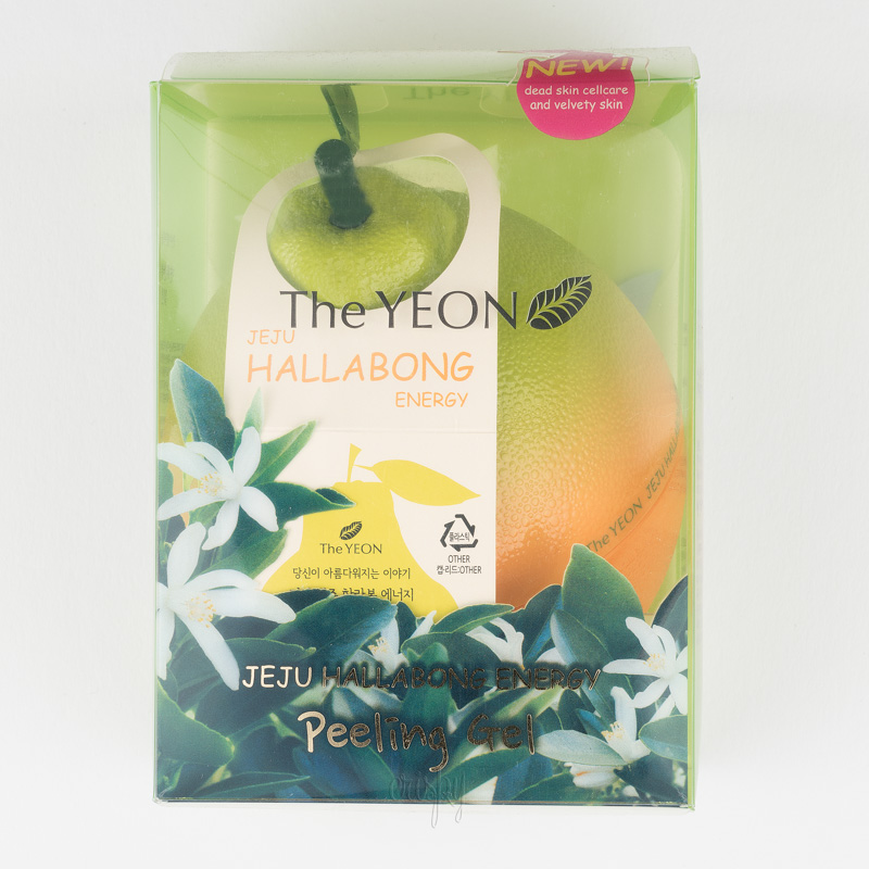 Пилинг-гель энергетический с экстрактом мандарина Jeju Hallabong Energy Peeling Gel The YEON
