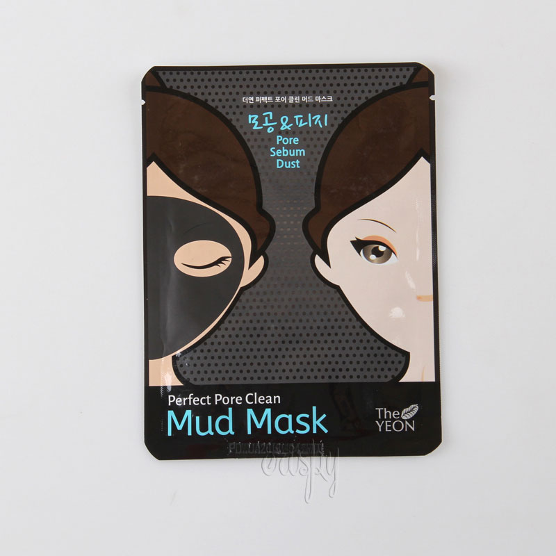 Тканевая грязевая маска для лица THE YEON Perfect Pore Clean Mud Mask - 25 г