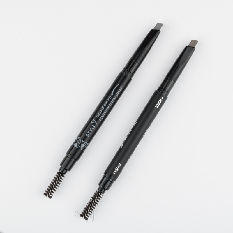 Карандаш+щеточка для бровей Style Y Natural Sketch Eyebrow Basic Pencil The YEON - 0,2 г