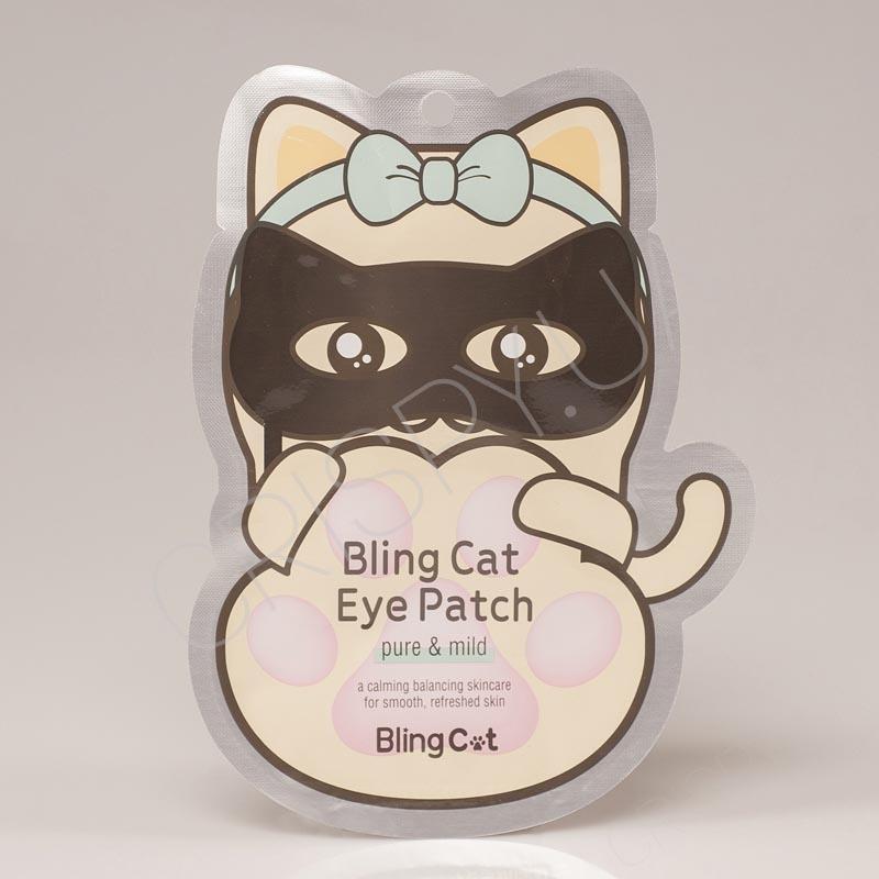 Патчи для глаз с молочным белком TONY MOLY Bling Cat Eye Patch - 1 пара
