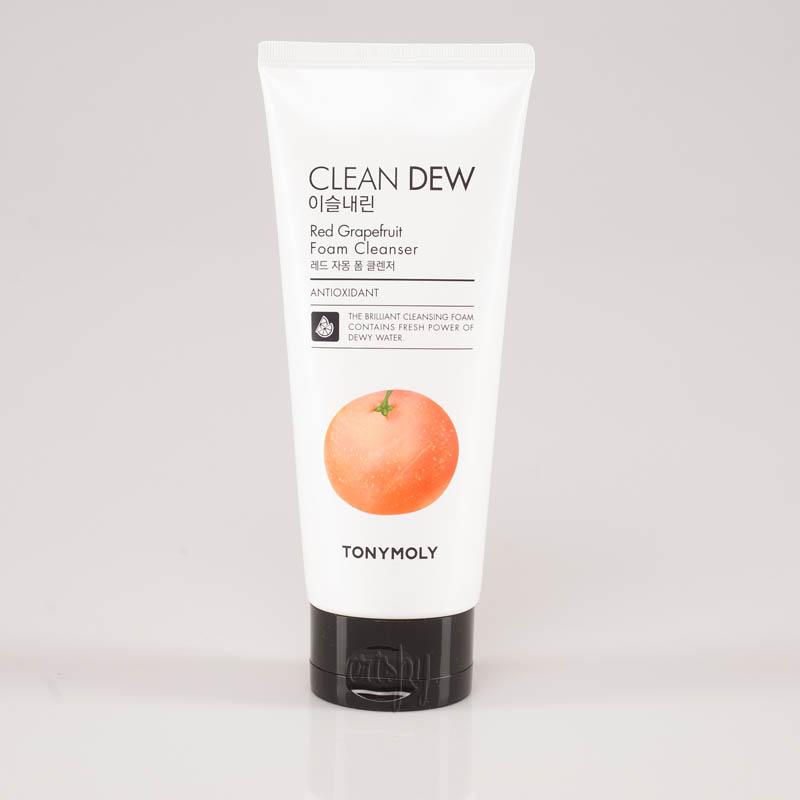 Очищающая пенка для умывания с красным грейпфрутом Tony Moly Clean Dew Red Grapefruit Foam Cleanser - 180 мл - Фото №2