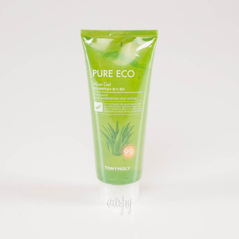 Универсальный успокаивающий гель с алоэ 99 % Tony Moly Pure Eco Aloe Gel - 300 мл - Фото №2