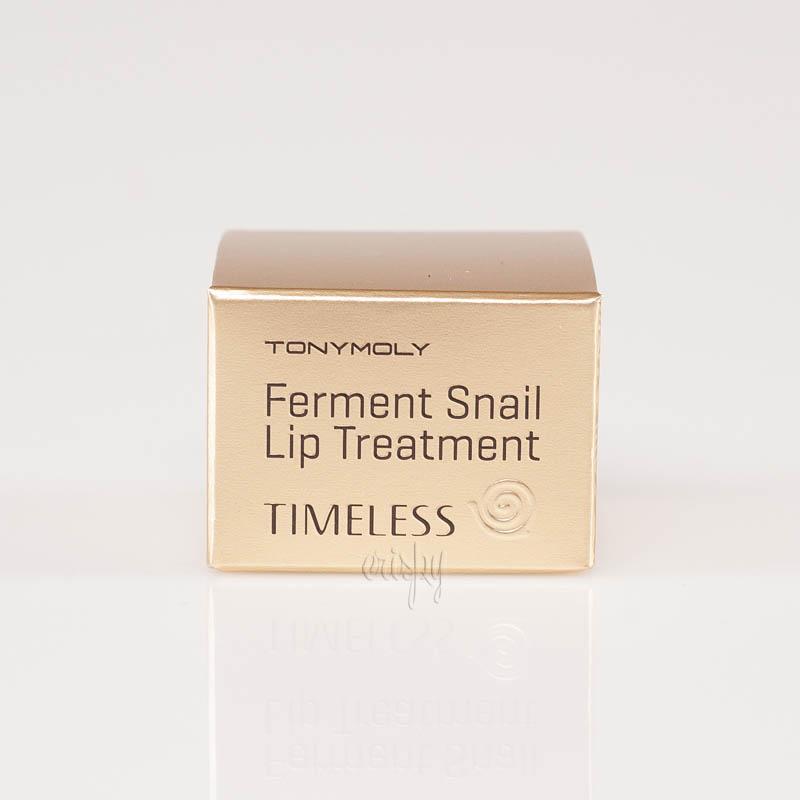 Улиточный бальзам для губ Tony Moly Timeless Ferment Snail Lip Treatment - 9 г