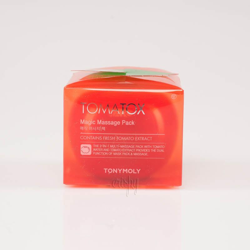 Осветляющая томатная маска Tony Moly Tomatox Magic Massage Pack - 80 г