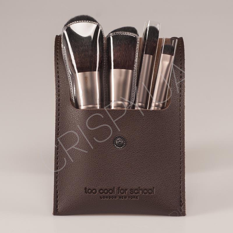Набор кистей для макияжа TOO COOL FOR SCHOOL ART CLASS DESIGNING BRUSH KIT - 4 шт.